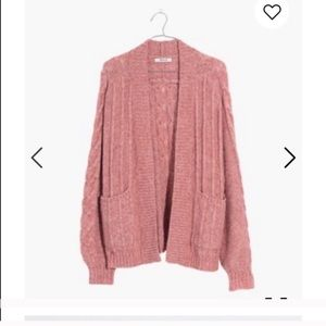 Madewell bubble cardigan